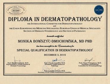 Diploma in Dermatopathology