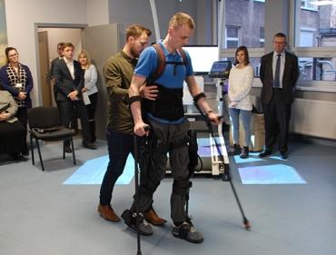 Otwarcie Pracowni Rehabilitacji Biometrycznej