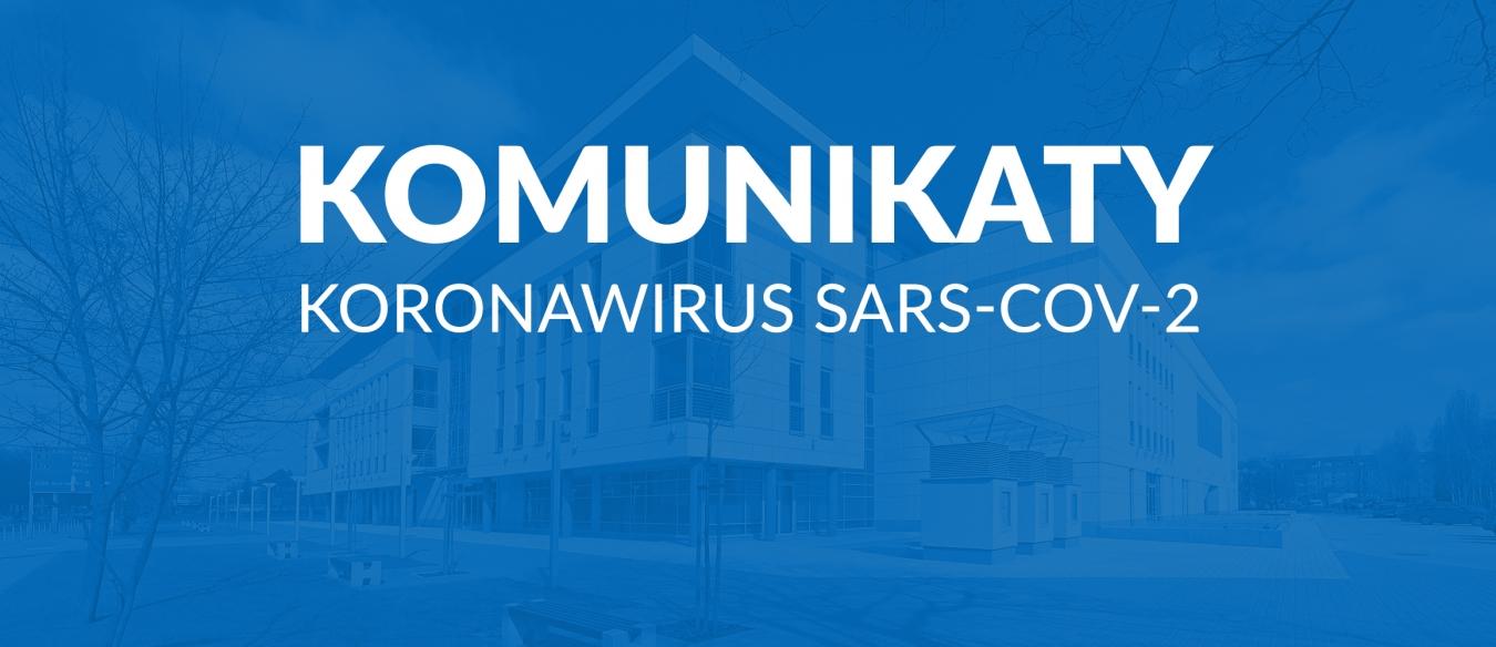 Komunikaty Władz Uczelni w sprawie koronawirusa SARS-CoV-2