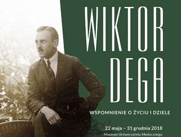 Wystawa poświęcona Prof. Wiktorowi Dedze w Muzeum UMP