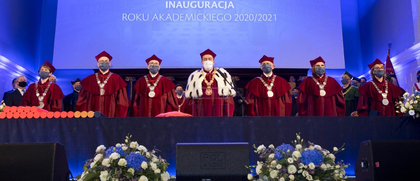 Inauguracja roku akademickiego pod znakiem pandemii
