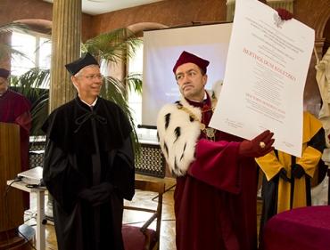 Doktorat honoris causa dla Bertholda Koletzko