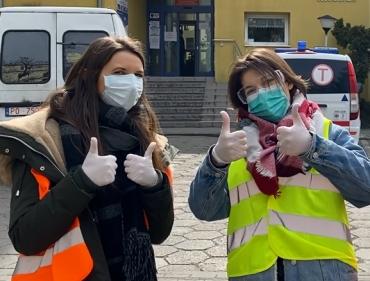 Nasi bohaterowie. Studenci UMP w walce z koronawirusem
