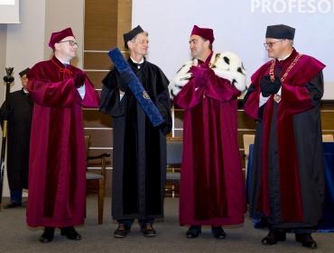 Doktorat honoris causa dla profesora Martina Witta