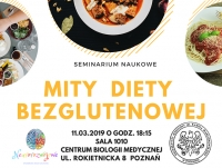 """Seminarium naukowe """"Mity diety bezglutenowej"""""""