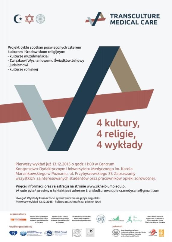 4 kultury - plakat