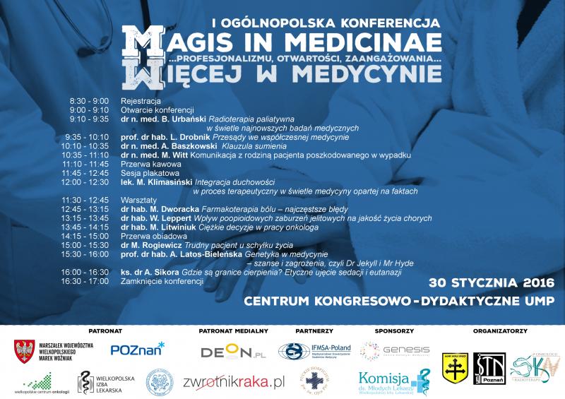Magis in Medicinae - Plakat