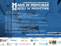 """I Ogólnopolska Konferencja """"Magis in Medicinae"""""""