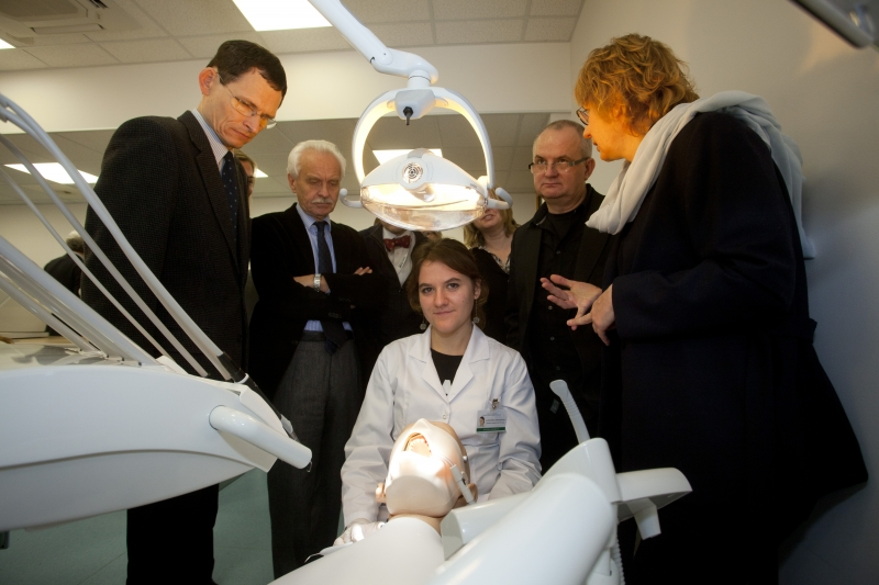 Otwarcie Centrum Symulacji Stomatologicznej