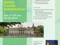 """V Międzynarodowa Konferencja """"Advances in Clinical Neuroimmunology ACN2016"""""""