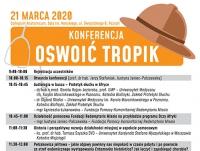 """Konferencja """"Oswoić Tropik 2020"""""""