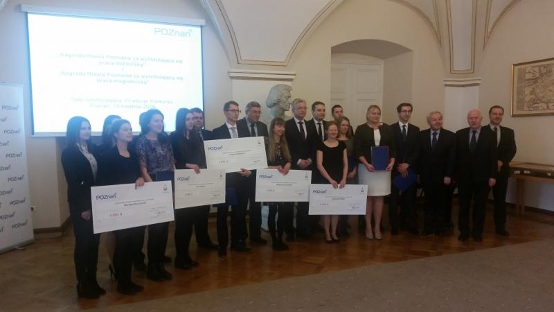 Nagrody Miasta Poznania za wyróżniającą się pracę magisterską i doktorską