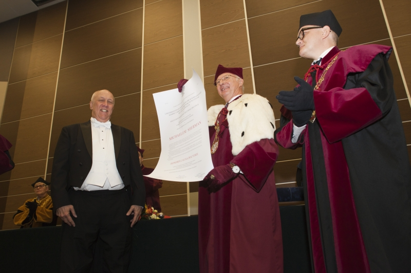 Doctor Honoris Causa - prof. Michael Sherman