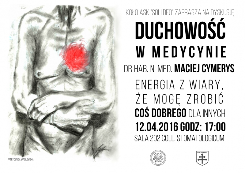 Duchowość w medycynie - plakat