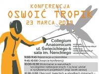"""Konferencja """"Oswoić tropik"""""""