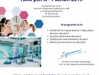 XV Sesja Naukowo-Szkoleniowa: Październik miesiąc profilaktyki raka piersi - Poznań 2019