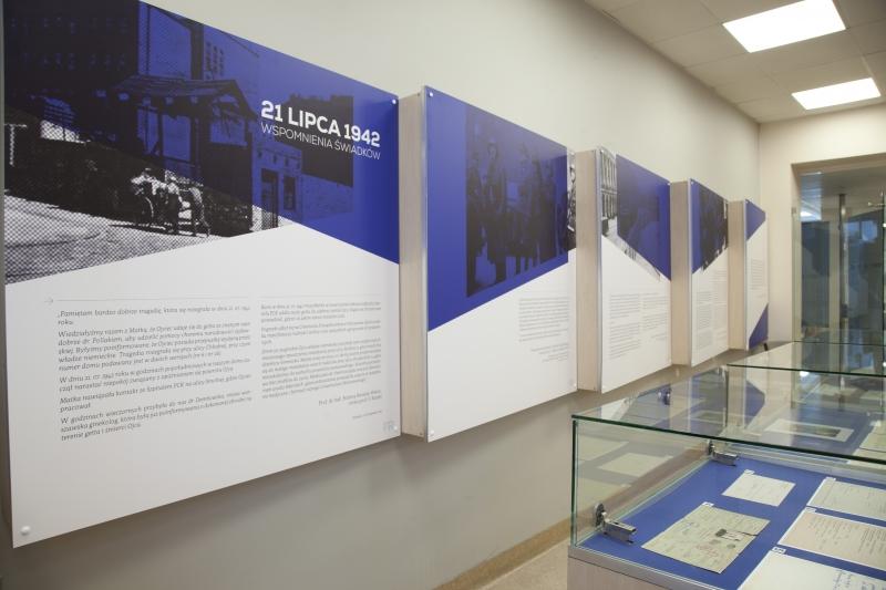 Wystawa poświęcona pamięci prof. Franciszka Raszei