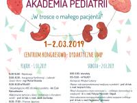 VII Ogólnopolska Akademia Pediatrii