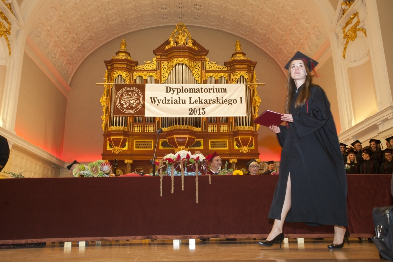 Dyplomatorium - Wydział Lekarski I