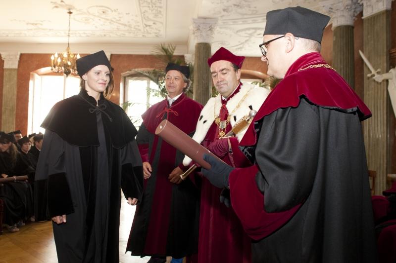 Promocje doktorskie - Wydział Lekarski II
