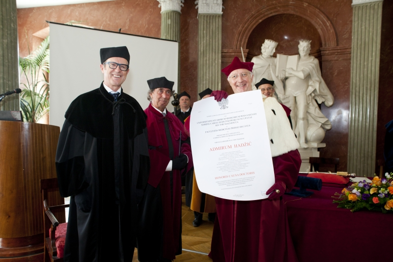 Doctor Honoris Causa - Prof. Admir Hadźić