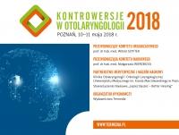 """Konferencja """"Kontrowersje w otolaryngologii 2018"""""""