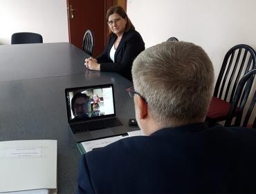 Pierwsze obrony prac dyplomowych w trybie on-line na Wydziale Nauk o Zdrowiu