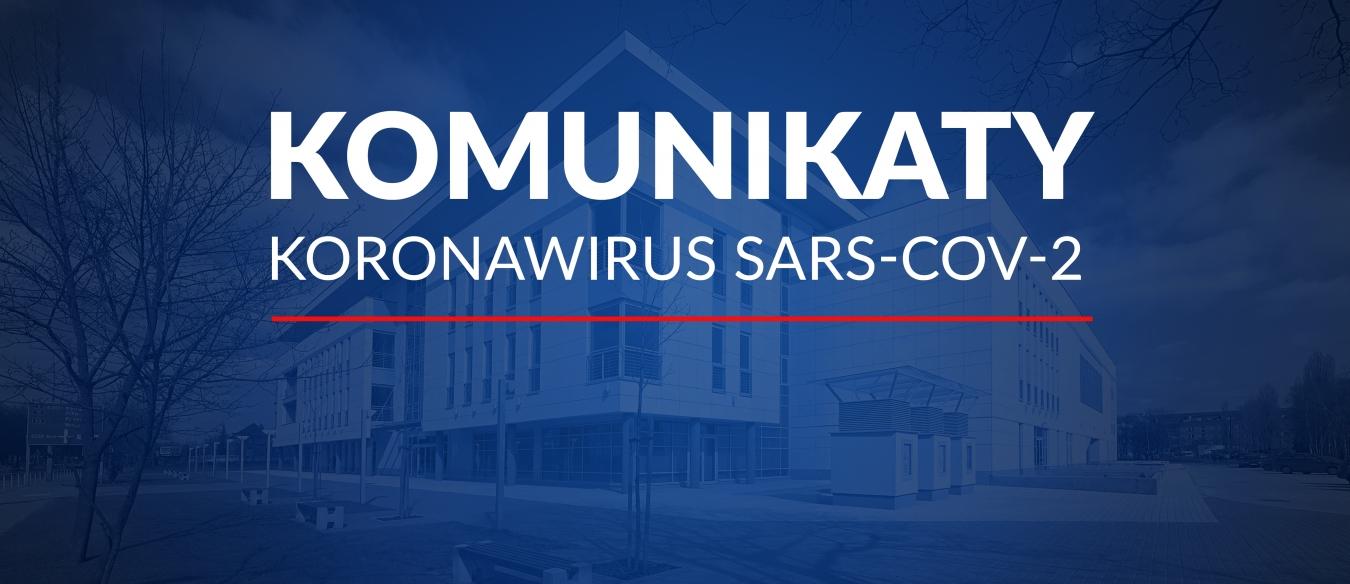 Komunikaty Władz Uczelni w sprawie sytuacji epidemiologicznej