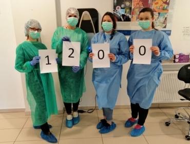 1200 badań Uczelnianego Laboratorium Koronawirusa (ULKa)