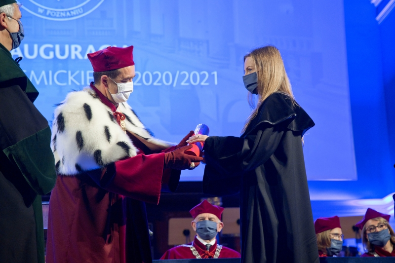 Ceremonia wręczenia tytułów doktora habilitowanego