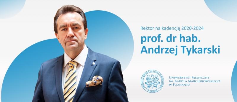Baner - prof. dr hab. Andrzej Tykarski
