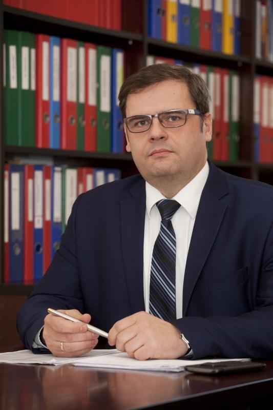 Zastępca Kanclerza ds. Administracyjno-Eksploatacyjnych dr Piotr Stawny