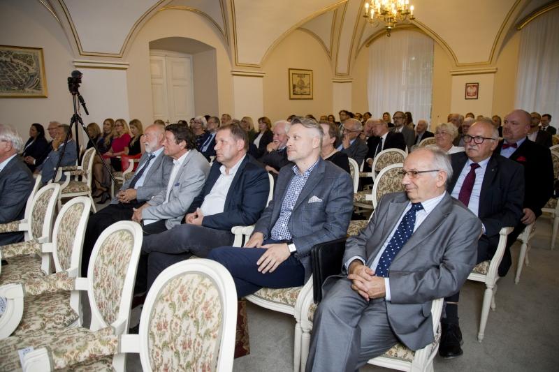 Benefis prof. Michała Musielaka