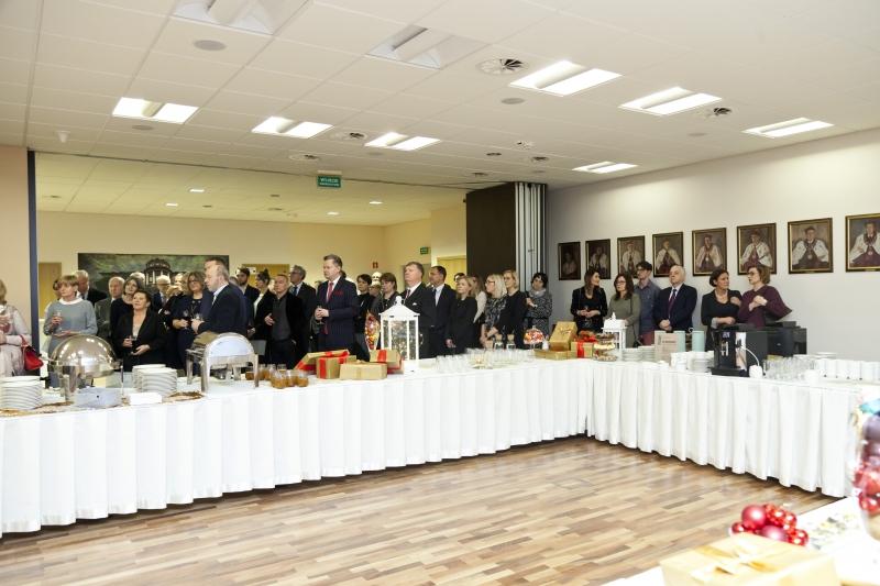 Spotkanie przedświąteczne Wydziału Wydziału Lekarskiego I