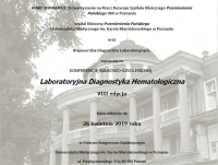 VIII edycja Konferencji Naukowo-Szkoleniowej Laboratoryjna Diagnostyka Hematologiczna