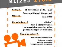 """Spotkanie filmowo-dyskusyjne - film """"Helen"""""""