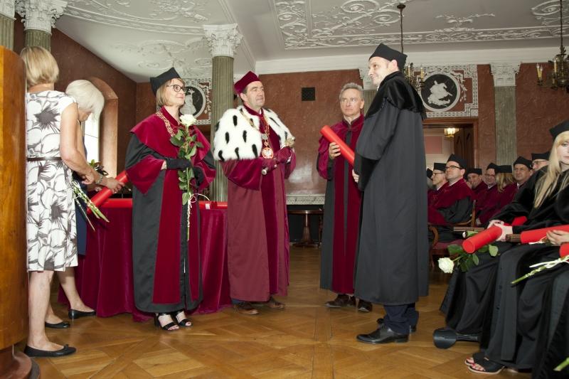 Promocje doktorskie na Wydziale Lekarskim I