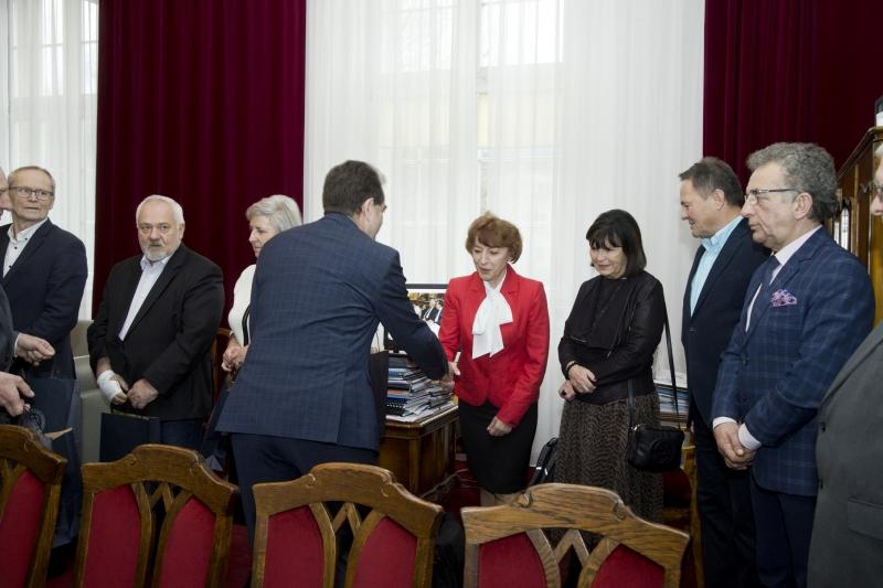 Spotkanie z emerytowanymi pracownikami uczelni