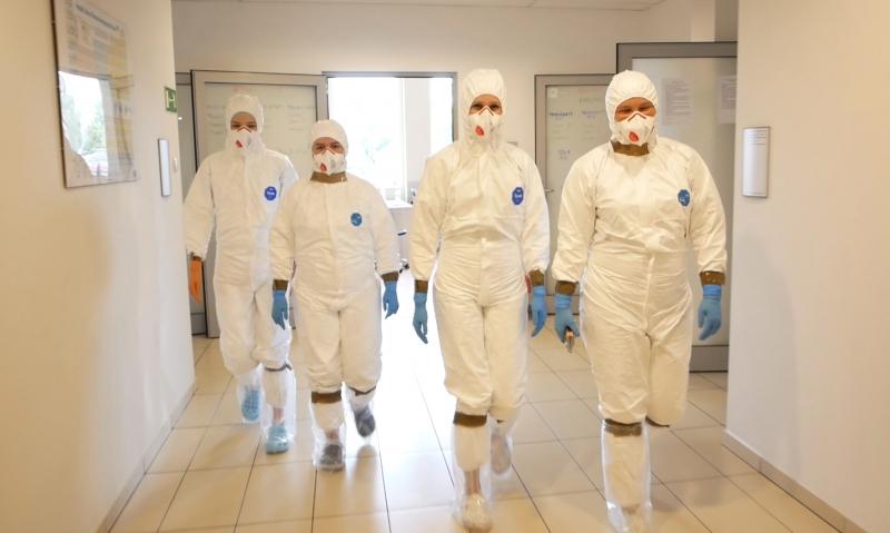 100 tysięcy oznaczeń w Uczelnianym Laboratorium Koronawirusa (ULKa)