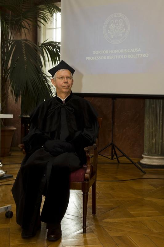 Doktor honoris causa - prof. Berthold Koletzko