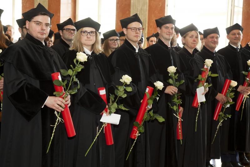 Promocje doktorskie - Wydział Lekarski I