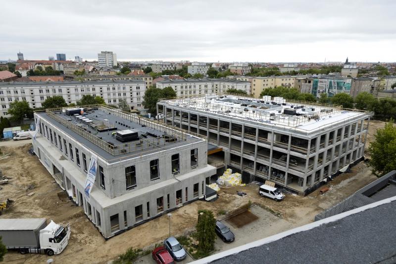 Collegium Pharmaceuticum w budowie