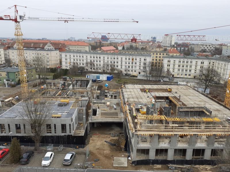 Zdjęcie z placu budowy