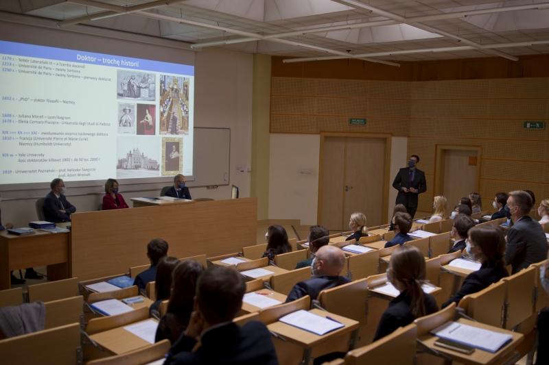 Spotkanie powitalno-organizacyjne Szkoły Doktorskiej