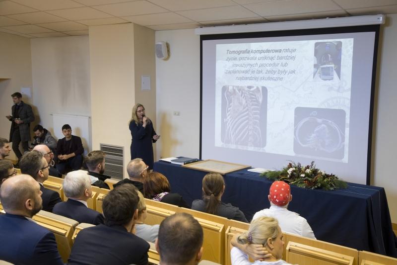 Otwarcie zmodernizowanej Pracowni Tomografii Komputerowej