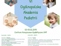 VI Ogólnopolska Akademia Pediatrii