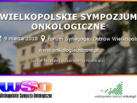 VI Wielkopolskie Sympozjum Onkologiczne
