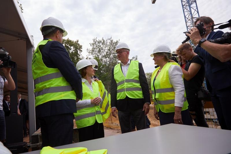 Rozpoczęcie budowy Centralnego Zintegrowanego Szpitala Klinicznego