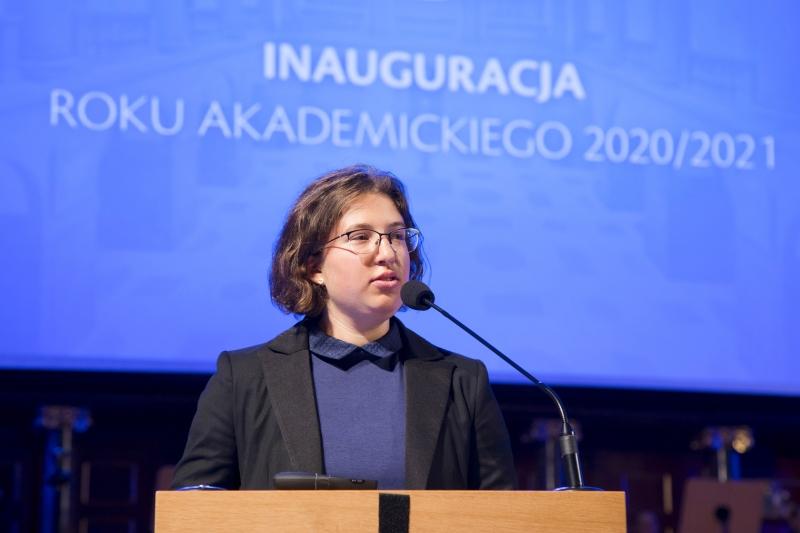Przemówienie przewodniczącej RUSS