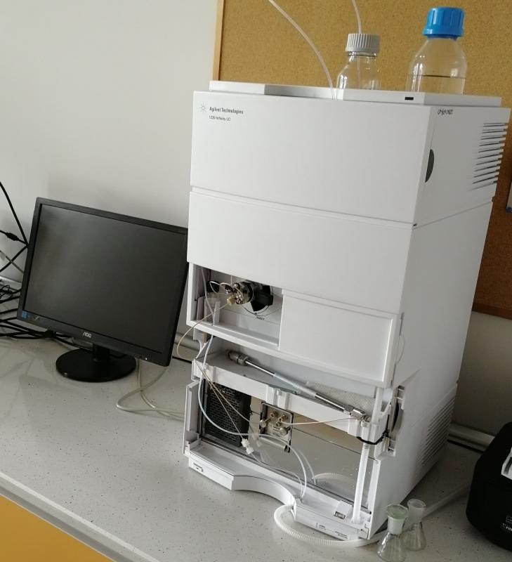 HPLC Agilent 1220 Infinity z detektorem UV